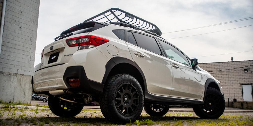 2020 Subaru Crosstrek Overland Build Rear Heo